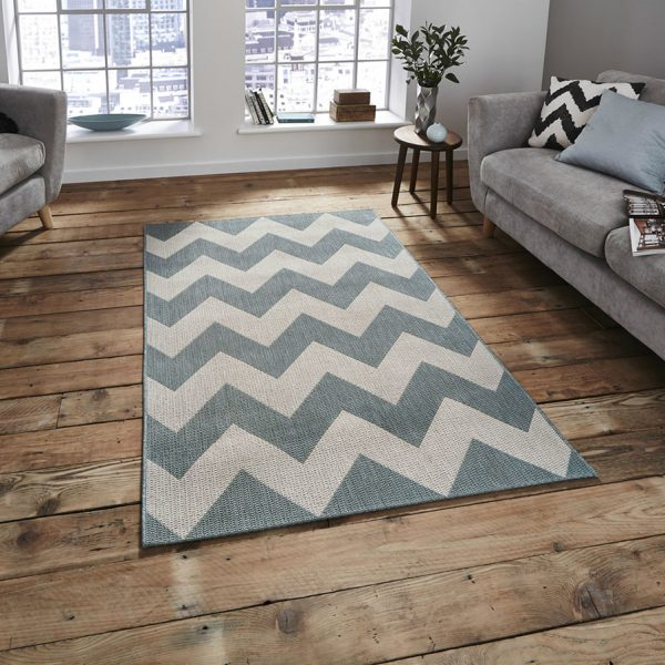 Cottage CT5191 Blue Rug