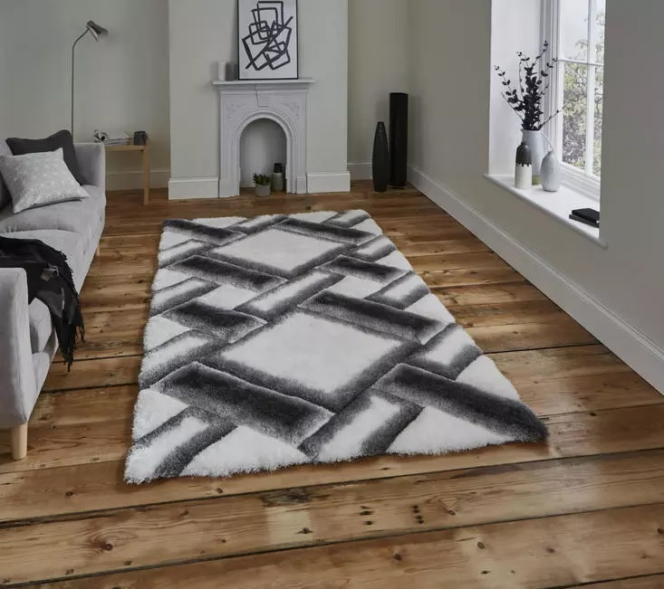 Noble House 9716 Grey Ivory Rug