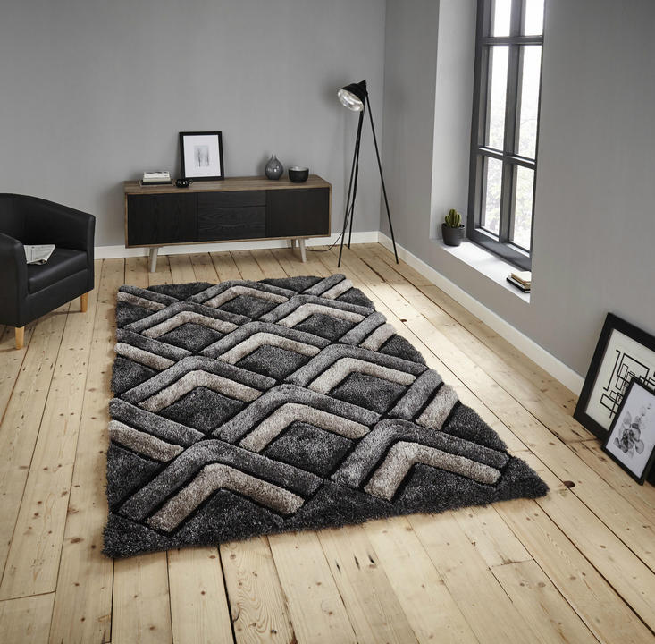 Shaggy - Noble House 8199 Grey Rug