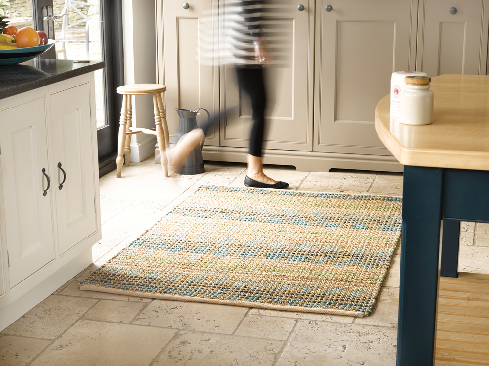 Seagrass Blue Rug