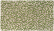 Squiggle Green Rug