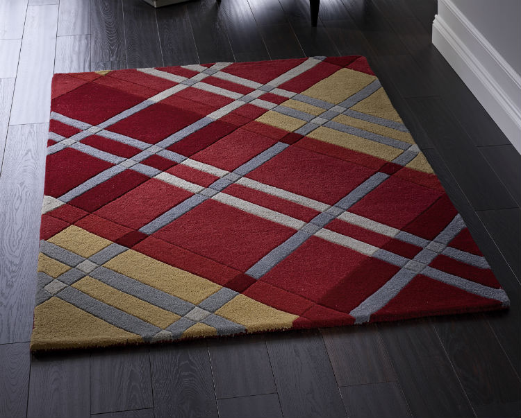 Sasha Iona Red Rug