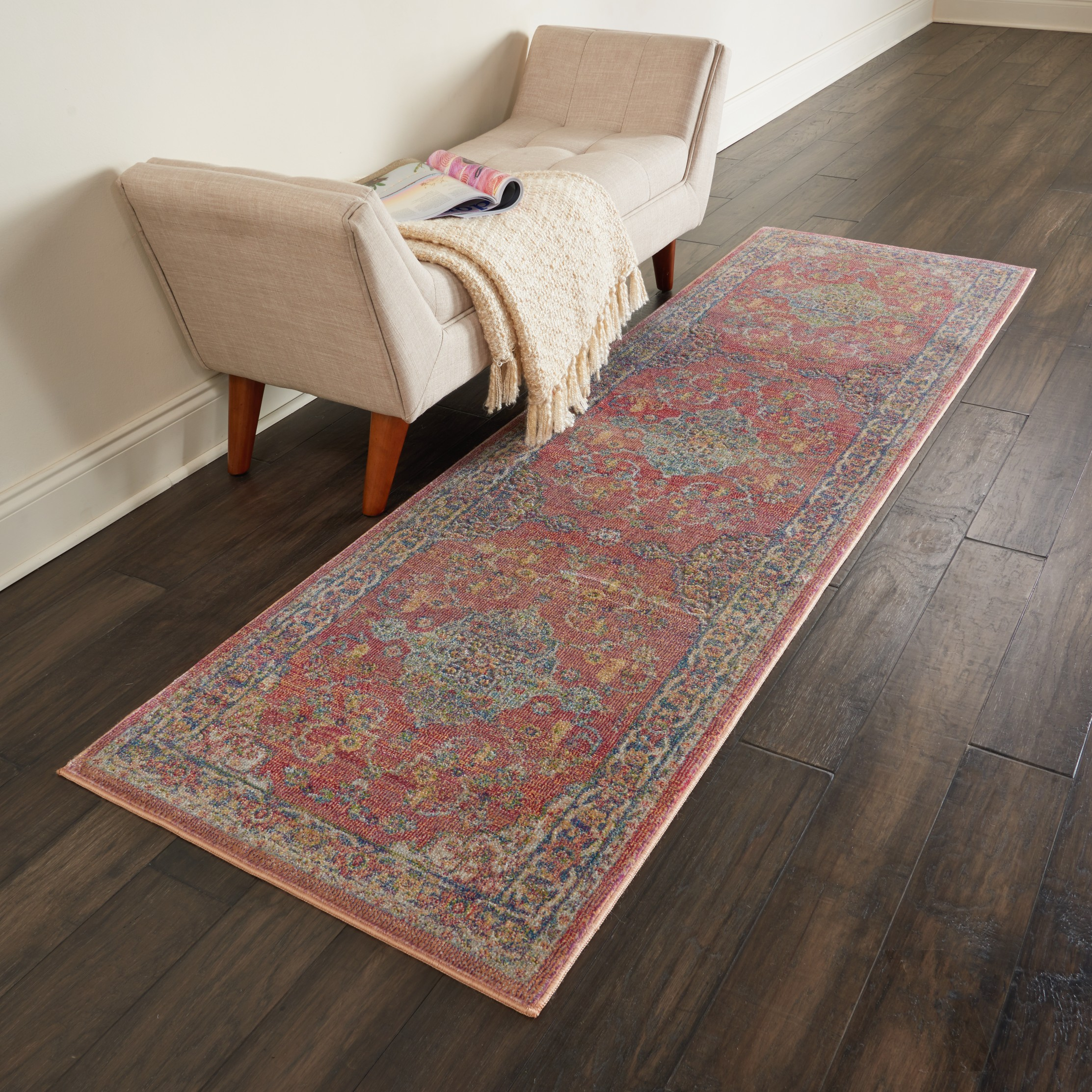Multi Coloured Carpet Hallway Runners Free Uk Delivery