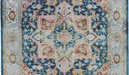 ANKARA GLOBAL ANR11 Blue Multi Rug