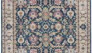 ANKARA GLOBAL ANR13 Navy Multi Rug