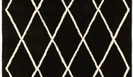 Albany Asiatic Diamond Black Rug