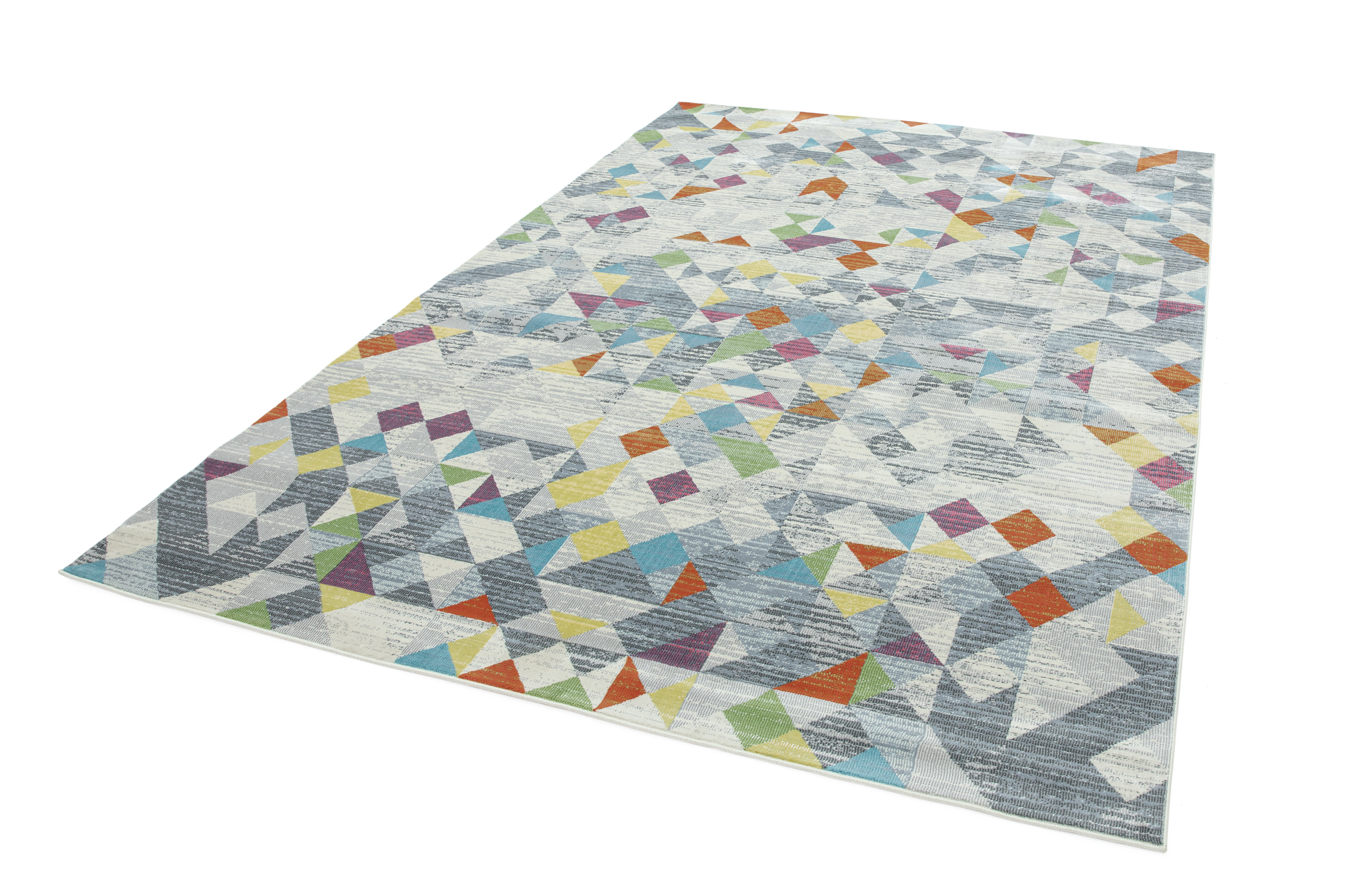 Amelie AM12 Rhombus Grey Rug