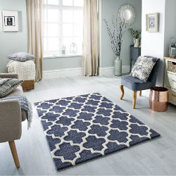 Arabesque Slate Rug