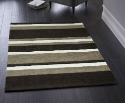 Boston Stripe Brown Rug