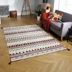 Beni Weavers Red Rug