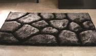 Verge Brook Black Silver Rug