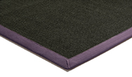 Sisal Black / Purple Rug