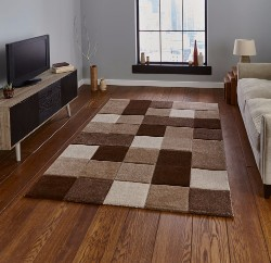 Brooklyn 646 Beige Brown Rug