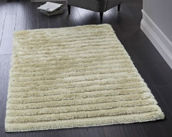 Carved Glamour Champagne Rug