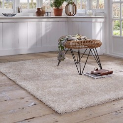 Cosy Glamour 0400-60 White Beige Rug