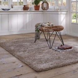 Cosy Glamour 0400-70 Sand Brown Beige Rug