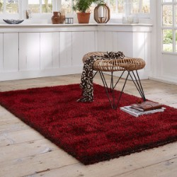 Cosy Glamour 0400-81 Red Rug