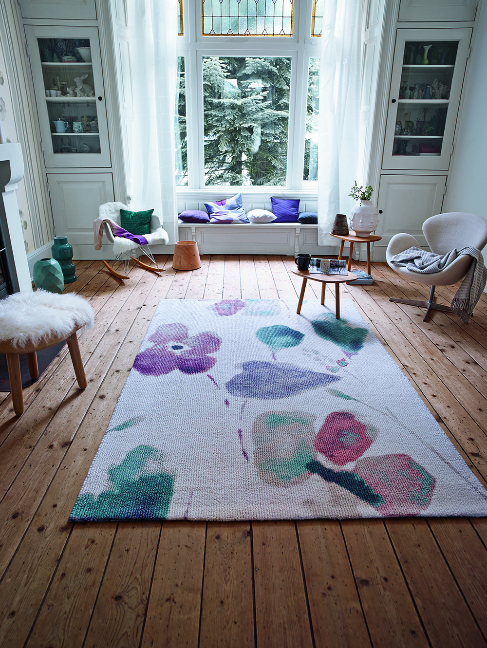 Spring Flower Dream Flower 0200-06 Rug