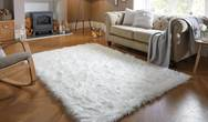 Faux Flair Ivory Rug
