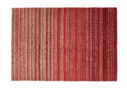 Fine Stripe Red Rug