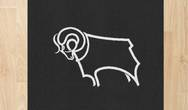Football Crests Derby County Rug