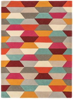 Funk Funk Honeycomb Bright Rug