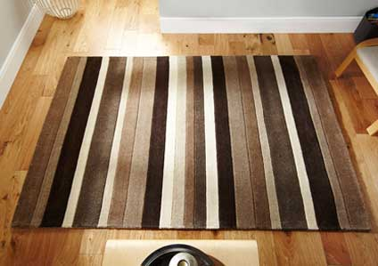 Jazz Stripes Natural Rug