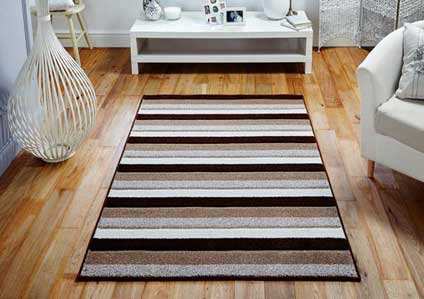 Viva 1090 D Brown Beige Rug