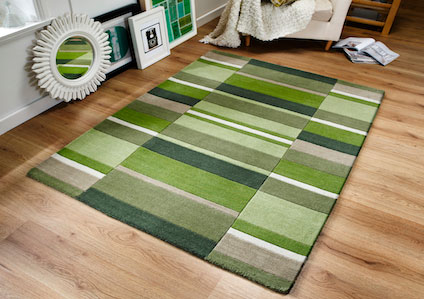 Jazz BLOCKS MOSS Rug
