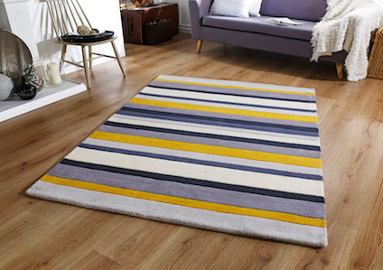 Jazz STRIPE YELLOW Rug