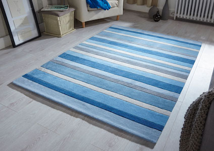 Jazz STRIPE DUSKY BLUE Rug