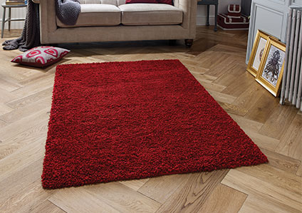 Harmony Ruby Red Rug