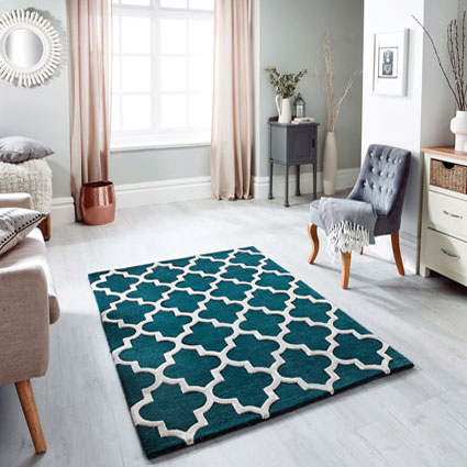 Arabesque Emerald Rug