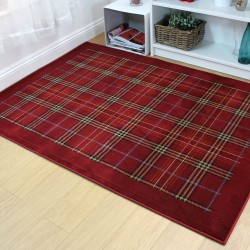 Galloway Red Rug
