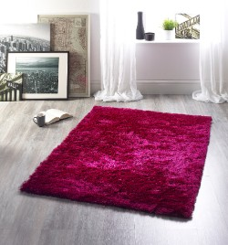 Glamour Hot Pink Rug