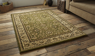 Heritage 993A Green Rug