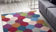 Hexagon Multi Rug