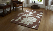 Hong Kong Floral 2085 Brown Rug