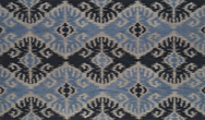 Ikat - Asiatic Ik 01 Blue Rug
