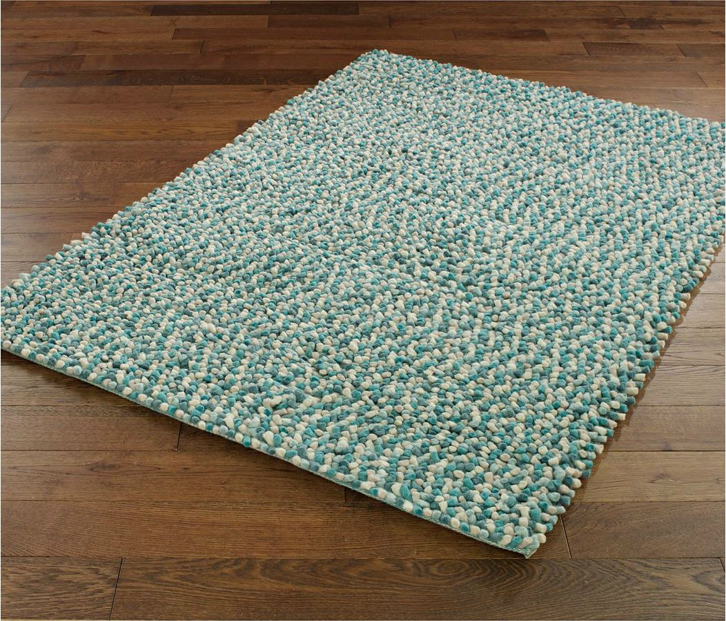 Jelly Bean Teal Rug