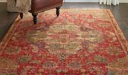 Jewel Nourison JEL01 Red Rug