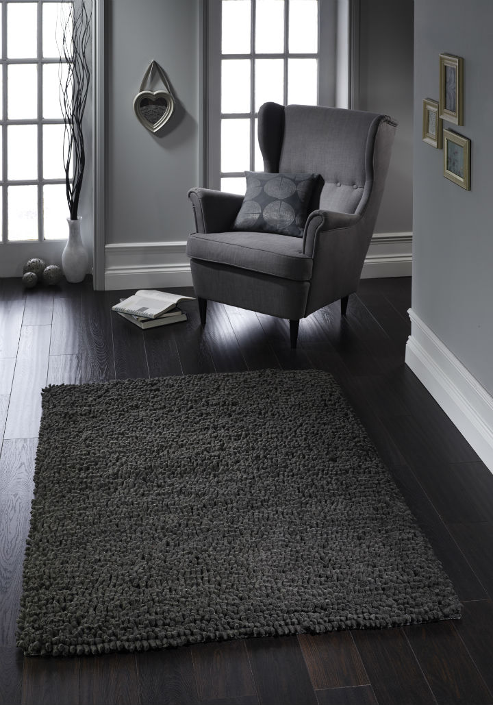 Jelly Bean Graphite Rug