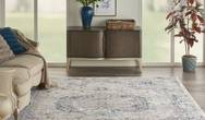 Royal Terrace KI46 Ivory Multi Rug