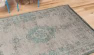 Fading World Medallion 8259 Jade Oyster Rug
