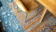 Antiquarian Kilim 9111 Riad Orange Rug