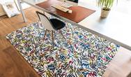 Gallery Graffito 9144 Street Graph Rug