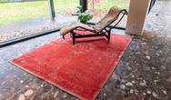 Fading World Medallion 9147 Cherry Rug