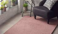Lustrous Pink Rug