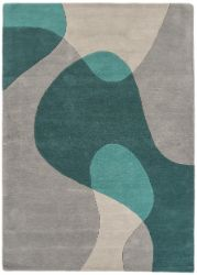 Matrix Arc Max 57 Teal Rug