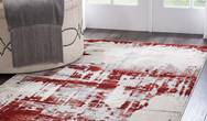 Maxell MEA14 Ivory Red Rug